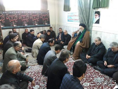 برگزاری مراسم بزرگداشت سردار رشید اسلام سپهبد شهید حاج قاسم سلیمانی در فرمانداری شهرستان مینودشت
