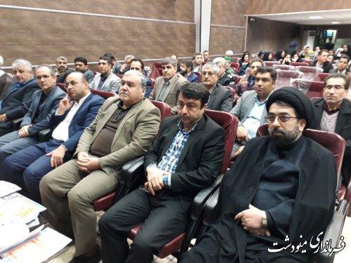 افتتاح پروژه های عمرانی و اقتصادی در شهرستان مینودشت