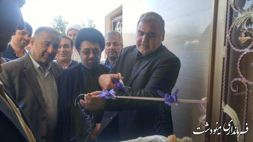 افتتاح متمرکز 98 واحد احداثی از آسیب دیدگان سیل و رانش زمین در روستای قلمی توسط فرماندار
