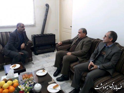 حضور فرماندارمینودشت در حوزه فرعی انتخابات شهرستان گالیکش