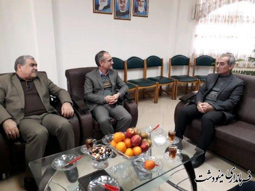 حضور فرماندارمینودشت در حوزه فرعی انتخابات شهرستان کلاله
