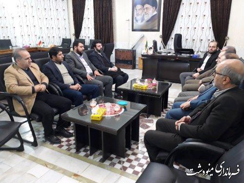 بازدید از ستادهای انتخاباتی کاندیداهای مجلس شورای اسلامی در شهرستان مینودشت