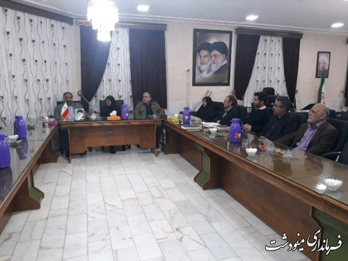 حضور معاون استاندار گلستان در حوزه انتخابیه شهرستان مینودشت