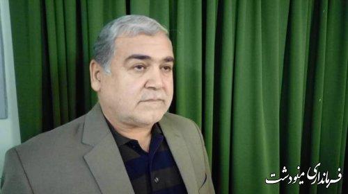 تاکید فرماندار شهرستان مینودشت بر تسریع در احداث پارک 7 هکتاری توسط شهرداری