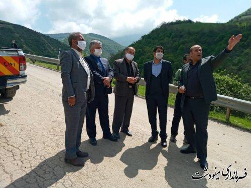 مرمت و بازسازی جاده های روستایی شهرستان مینودشت مستلزم توجه ویژه مدیران استانی است