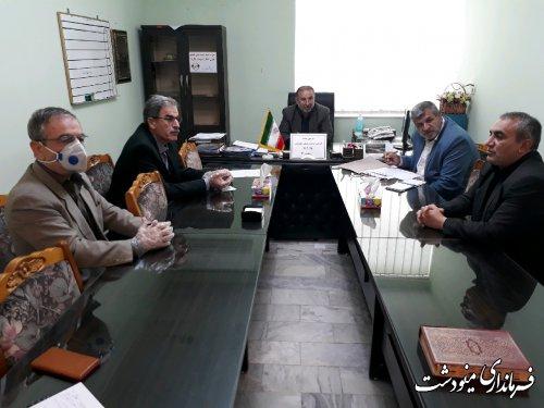 جلسه کمیته اجرائی ساخت مسکن محرومین شهرستان برگزار شد