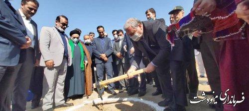 عملیات اجرایی پل شهدای گمنام و پارک امام رضا (ع) مینودشت آغاز شد