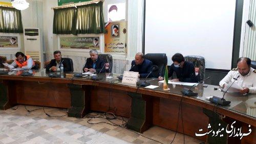 برگزاری جلسه شوراي هماهنگي امور ترافيكي شهرستان