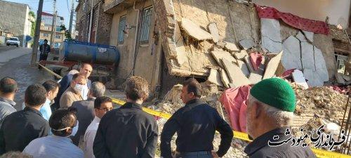فوت يك نفر و مصدوميت 5 نفر  به دليل خاكبرداري غيراصولي در شهر دوزین