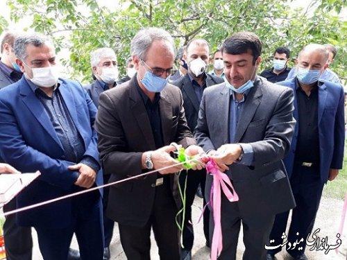 افتتاح 51 واحد مسکن مددجویی و پروژه آبیاری تحت فشار به مناسبت هفته دولت در مینودشت