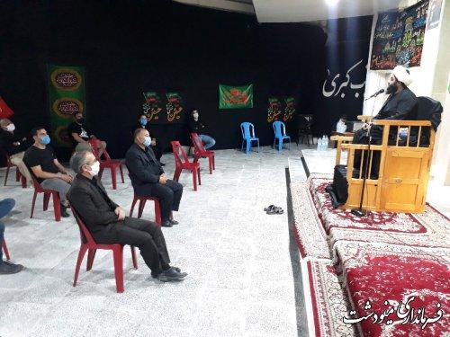 حضور فرماندار شهرستان در مساجد و هیئات مذهبی