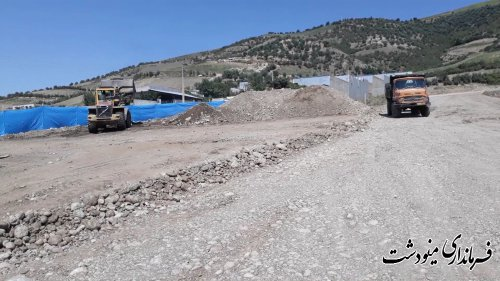 بازدید فرماندار از آغاز روند ساخت و ساز در روستای جنگلده بالا