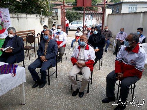 افتتاح نخستین خانه هلال شهرستان مینودشت در روستای محمد زمان خان