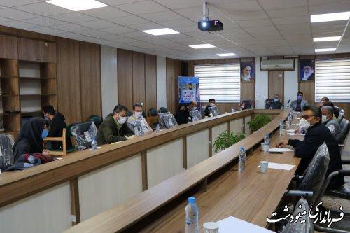 پنجمین جلسه شورای آموزش و پرورش مینودشت برگزار شد