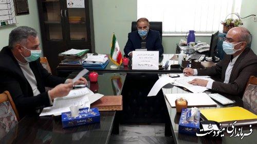 جلسه کارگروه امور گندم و آرد و نان شهرستان مینودشت برگزار شد