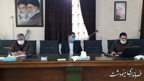 دیدار احمدی مدیرکل ارتباطات و فناوری اطلاعات با فرماندار مینودشت