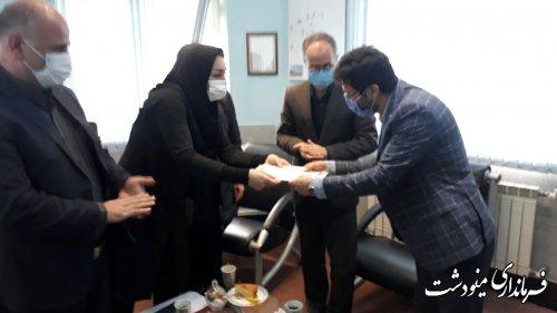 افتتاح سه ایستگاه باران سنج خودکار در شهرستان مینودشت
