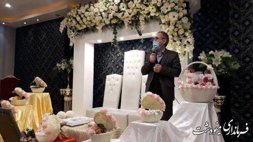 اهدای 5  سری جهیزیه به نوعروسان شهرستان مینودشت
