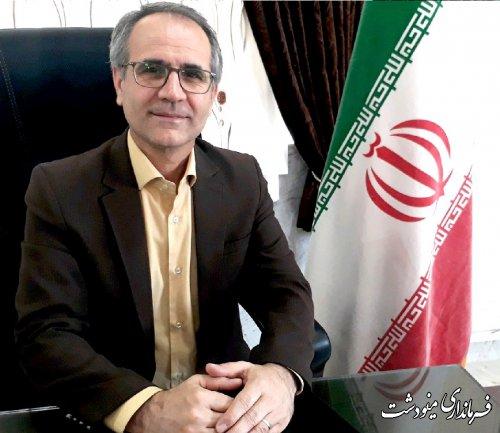 سید ابوالفضل حسینی نیا به سمت فرماندار شهرستان مینودشت منصوب شد