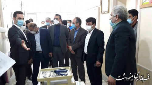 تاکید فرماندار بر اصل بی طرفی و امانتداری اعضای بازرسی انتخابات شهرستان مینودشت
