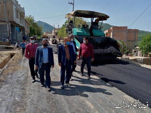 اجرای فاز اول طرح هادی روستاهای ریگ چشمه بالا و ترسه با اعتباری بالغ بر ۵۱۱ میلیون تومان