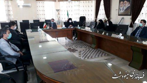 دیدار رئیس اداره تعاون و جامعه کارگری با فرماندار به مناسبت هفته کار و کارگر