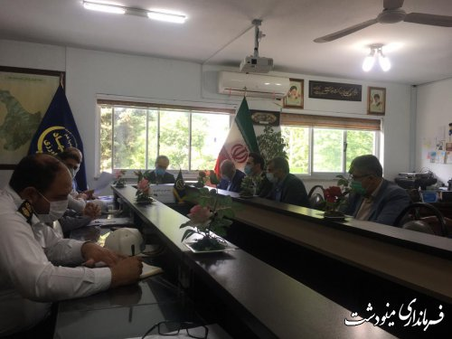 جلسه شورای کشاورزی شهرستان مینودشت برگزار شد
