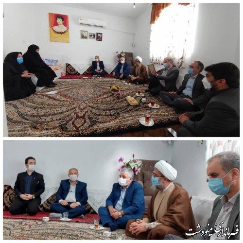 دیدار و تجلیل از خانواده شهدا به مناسبت 3 خرداد