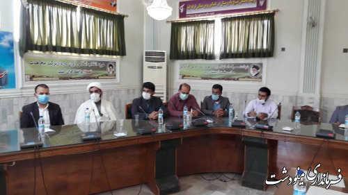 جلسه توجیهی کاندیداهای شوراهای اسلامی شهر مینودشت و دوزین برگزار شد