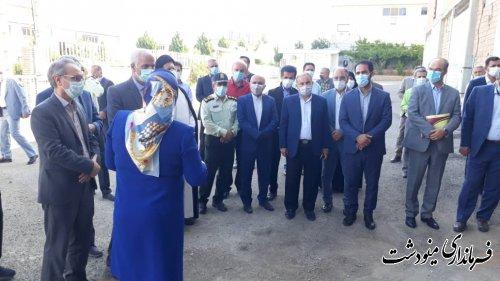 افتتاح دو واحد تولیدی در شهرک صنعتی مینودشت با حضور رئیس کل دادگستری و دادستان کل استان گلستان