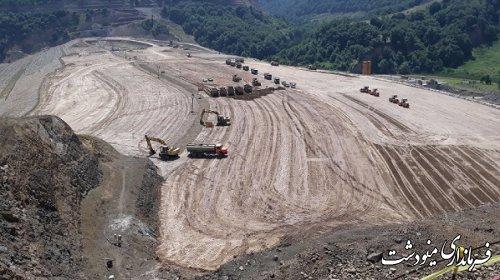 ۱۰ هزار میلیارد ریال برای سد نرماب مینودشت هزینه شد