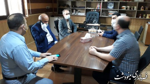 بازدید فرماندار از واحدهای صنعتی بمناسبت روز صنعت و معدن در شهرستان مینودشت