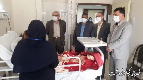 عیادت و دلجویی فرماندار از مادر شهید مدافع حرم صادق شیبک