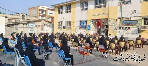 زنگ بازگشایی مدارس توسط فرماندار مینودشت نواخته شد