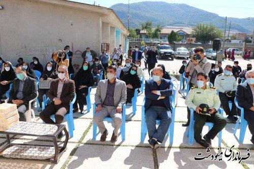 افتتاح مدرسه استثنایی 6 کلاسه القجر